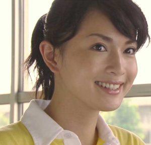 爽やかなポニーテールの長谷川京子