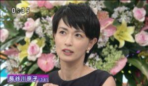 ショートヘアの長谷川京子
