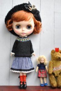 ガーリーな雰囲気のブライス人形