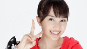 ピースサインの百田夏菜子