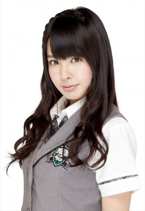 NMB48時代の山田菜々さん。「選抜総選挙」投票システム不備で速報順位を下げた、かわいそうな過去をもちます。