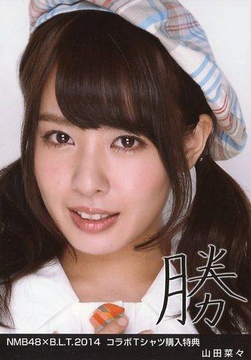 NMB48時代の山田菜々さん。チェック柄のベレー帽がスクールライクですね。