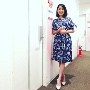 青ワンピの羽田美智子