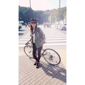 自転車と森下千里